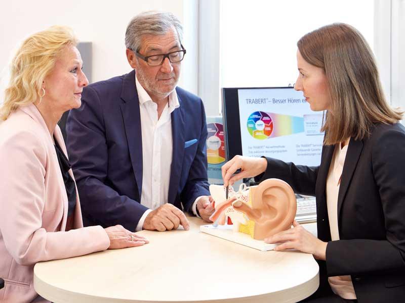 Die TRABERT® Fachleute erklären alles Wichtige rund um den Hörtest und die TRABERT® Hörweltmethode.