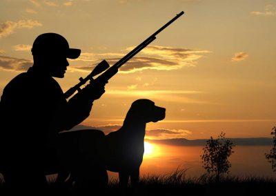 Jagen und Schießen